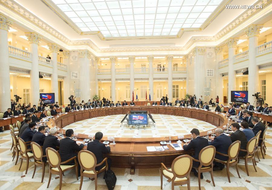 الصين وروسيا تتفقان على تعميق التعاون فى الاستثمارات