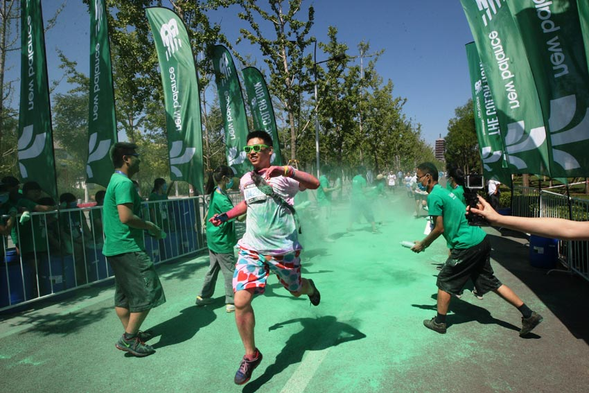 """В Пекине состоялся ежегодных  """"Красочный марафон"""""""