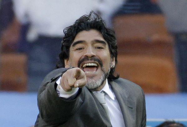 Архивное фото: Марадона