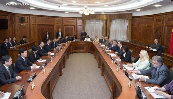 اجتماع في العاصمة الصربية بلجراد