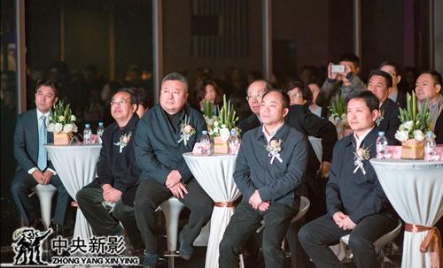 中央新影集团副总编辑、CCTV发现之旅频道负责人时间(右三)出席启动仪式