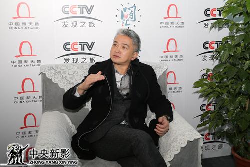 时间汇发现投资有限公司董事长林晓哲现场接受采访