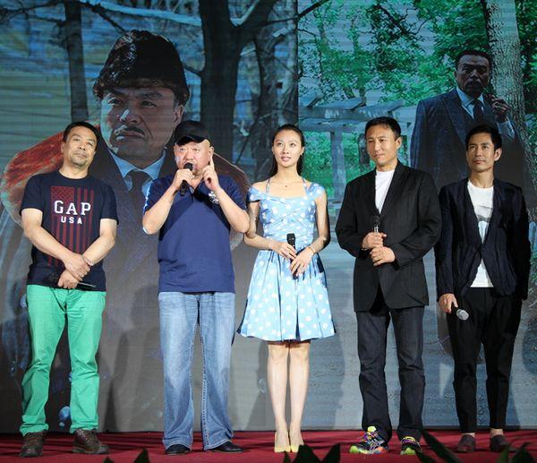 《东北抗日联军》导演李文岐,主演王洛勇、成泰燊、储智博、储小蕾