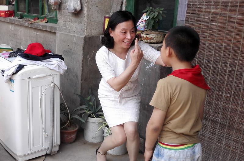 为张兰镇张村的小兆星检查视图片