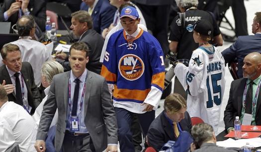 18-летний хоккеист Сун Аньдун впервые в истории выбран на драфте НХЛ