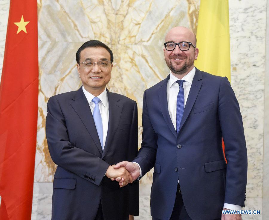 La Chine et la Belgique signent des accords de coopération et s