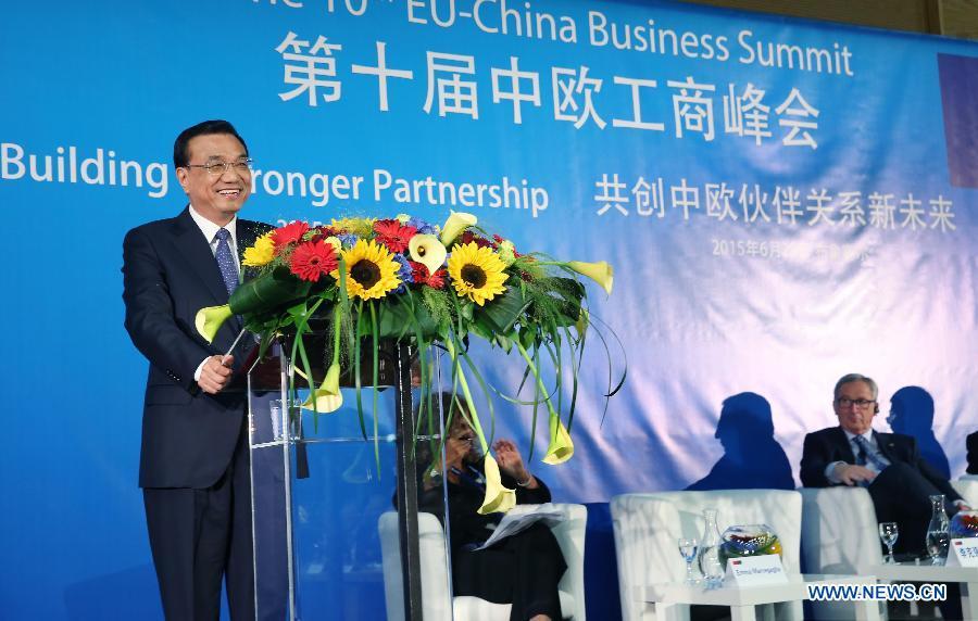 На деловом саммите Китай-ЕС Ли Кэцян подчеркнул необходимость сообща выстраивать отношения с Европейским союзом