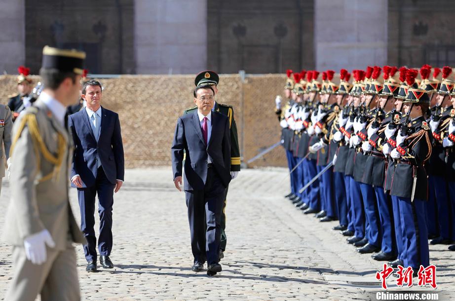 Le Premier ministre chinois est à Paris pour renforcer le partenariat