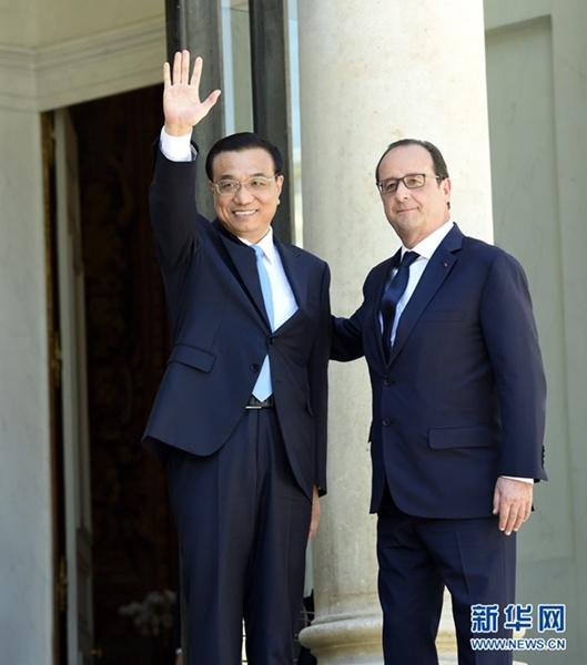 اجتمع لي مع الرئيس الفرنسي