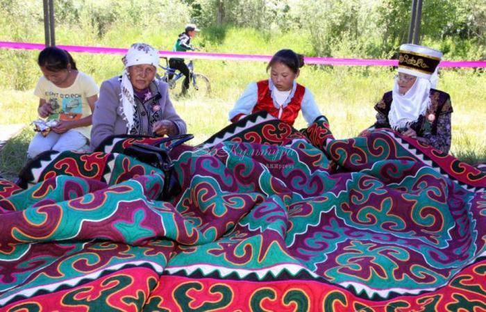 В Ат-Башынском районе Кыргызстана прошел фестиваль «Кыргыз шырдагы»
