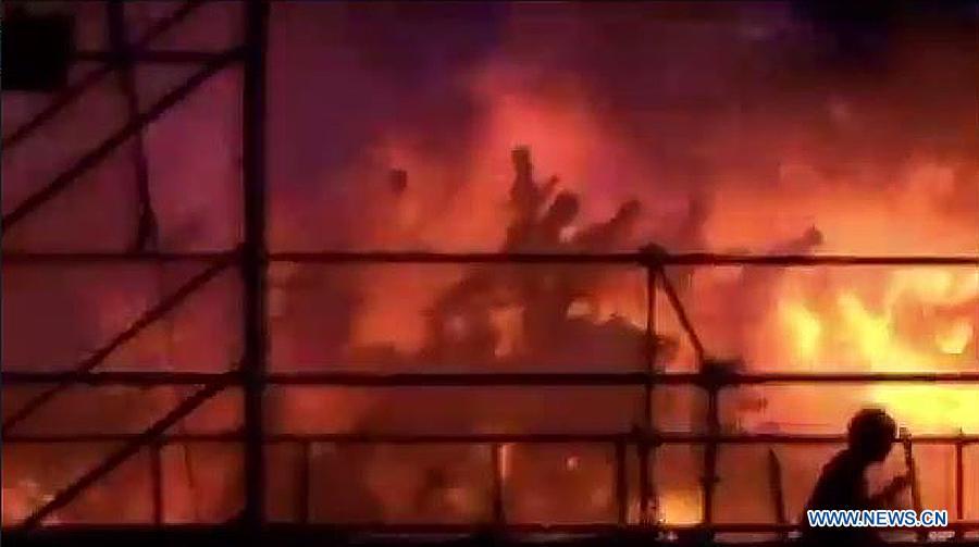 Число жертв взрыва в тайваньском аквапарке достигло двух человек