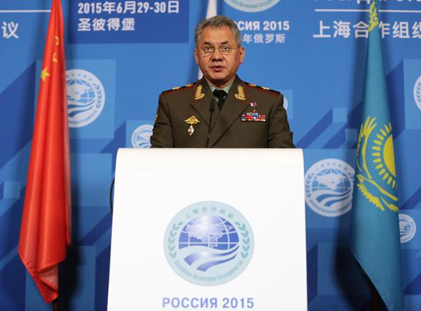 Министр обороны России Сергей Шойгу Руслан Шамуков/ТАСС