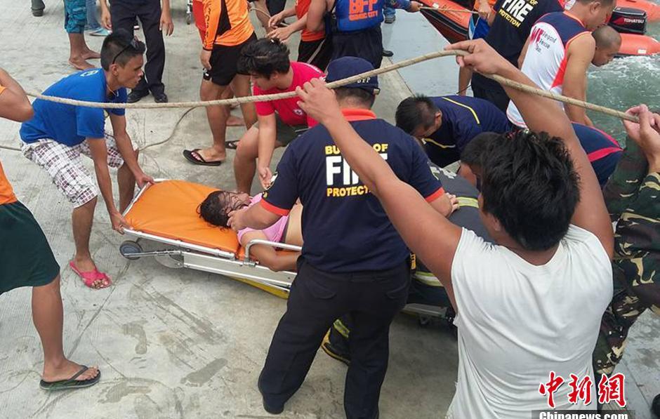 У побережья Филиппин перевернулся пассажирский паром
