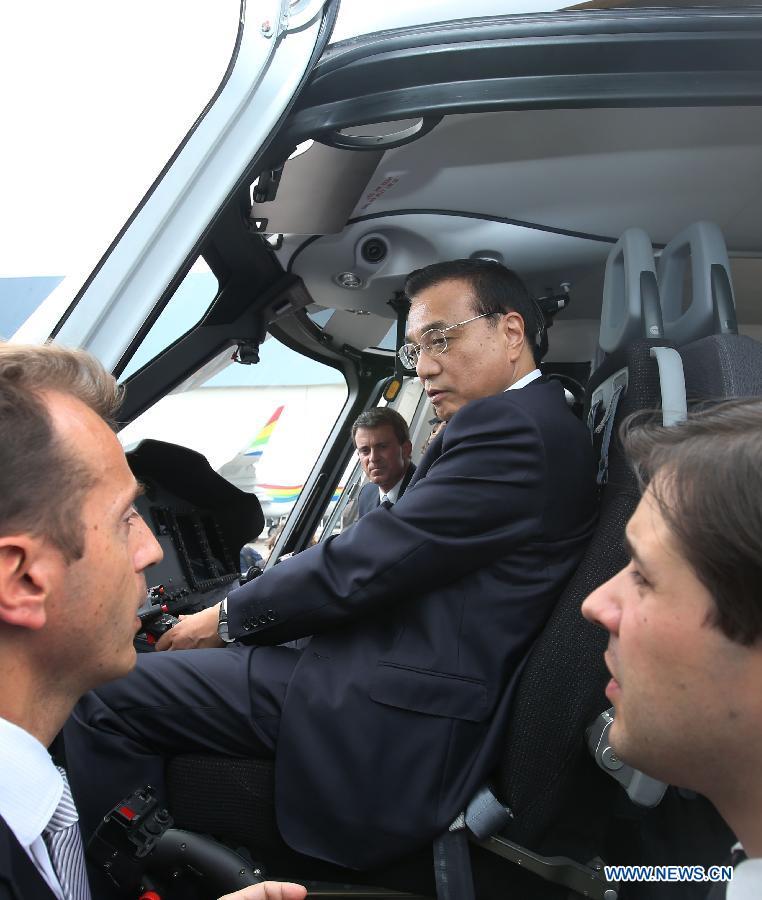Le Premier ministre chinois assure aux entreprises françaises la perspective économique chinoise