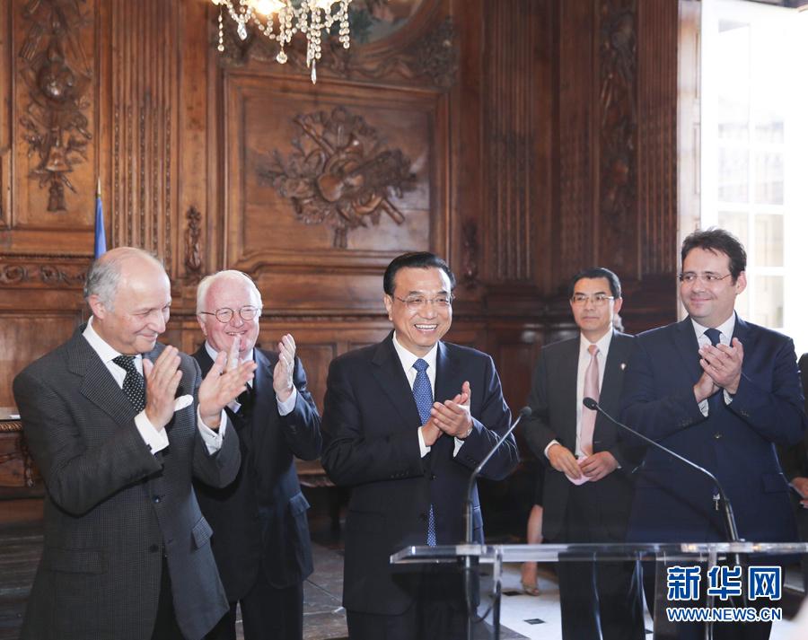رئيس مجلس الدولة الصيني يزور مدينتي مرسيليا وآرل بفرنسا