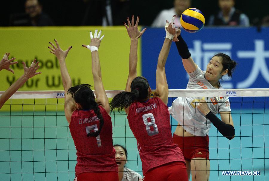 Китайская сборная по волейболу стала чемпионом первого этапа мирового Гран-при среди женщин