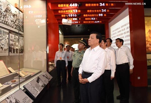 افتتح معرض للاحتفال بالذكرى الـ78 لبدء حرب مقاومة الشعب الصيني للعدوان الياباني
