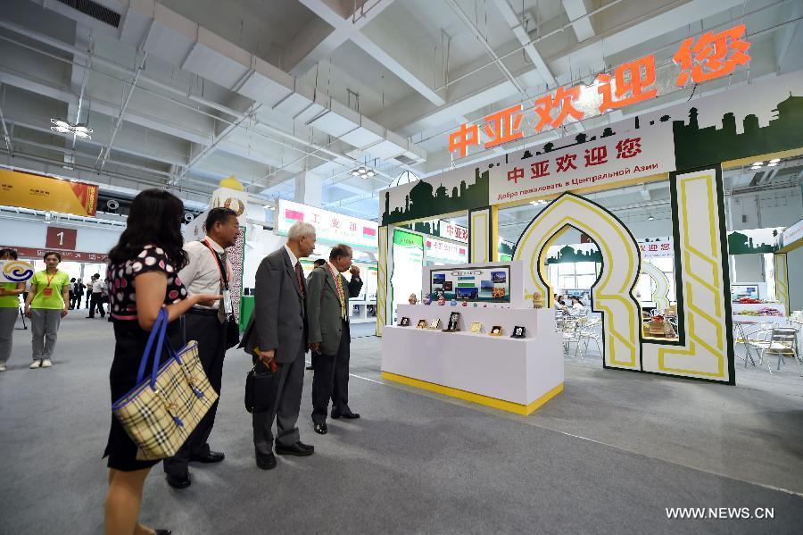 На открывшейся 21-й Ланьчжоуской ярмарке заключены контракты на рекордную сумму