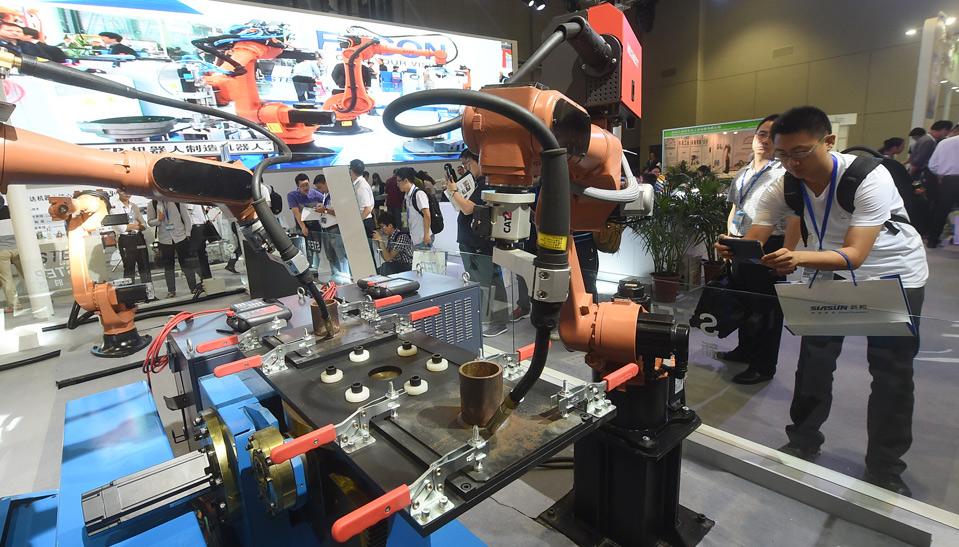 Международная выставка робототехники открылась в Шанхае
