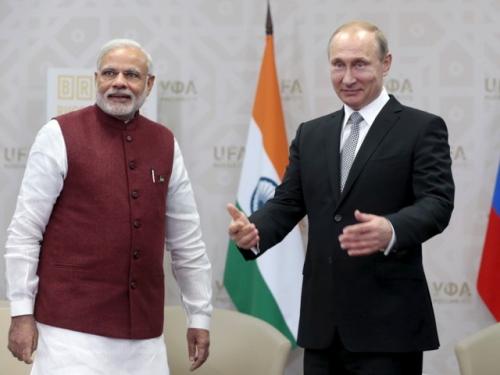 Президент России Владимир Путин объявил о начале процесса присоединения Индии к ШОС