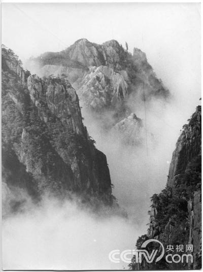 吴印咸先生摄影作品:黄山似画