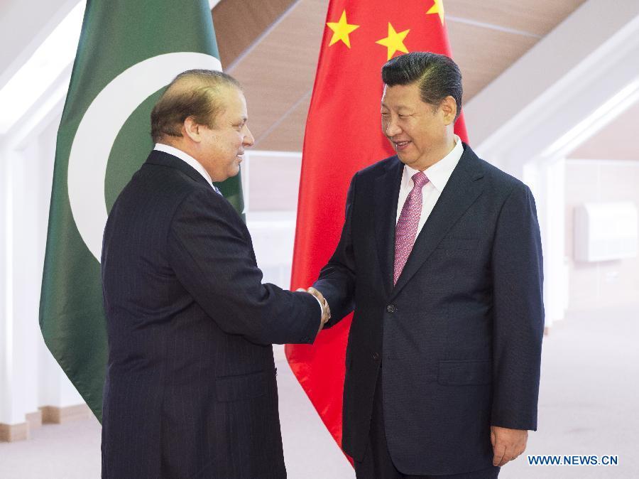Си Цзиньпин встретился с премьер-министром Пакистана Навазом Шарифом