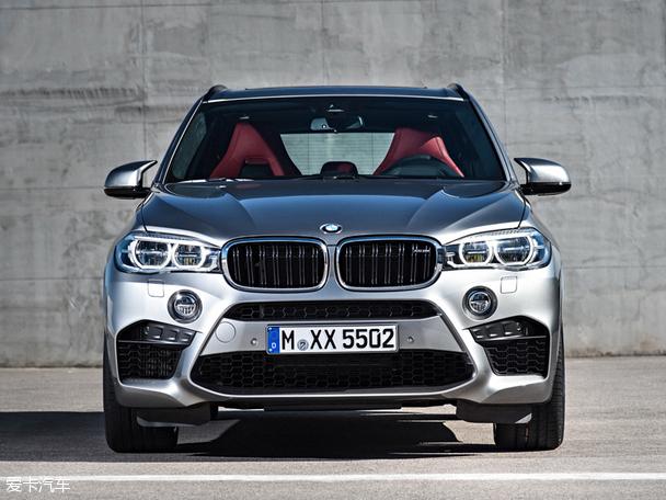 相比老款车型而言,2015款宝马x5 m的前脸有了程度非常明显的升级,再加