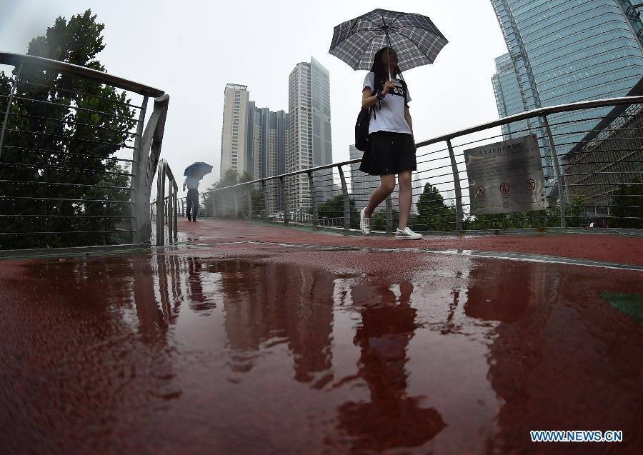 Грозовые ливни обрушатся на центральный и южный Китай