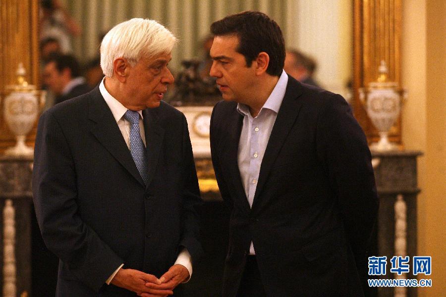 В Греции приведены к присяге новые члены правительства