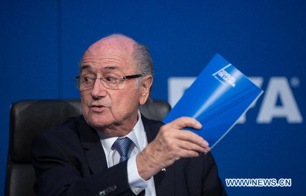 Выборы нового президента ФИФА состоятся 26 февраля 2016 года