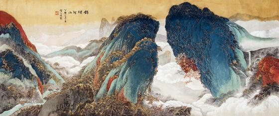 Национальный художественный музей КНР презентовал экспозицию китайских пейзажей