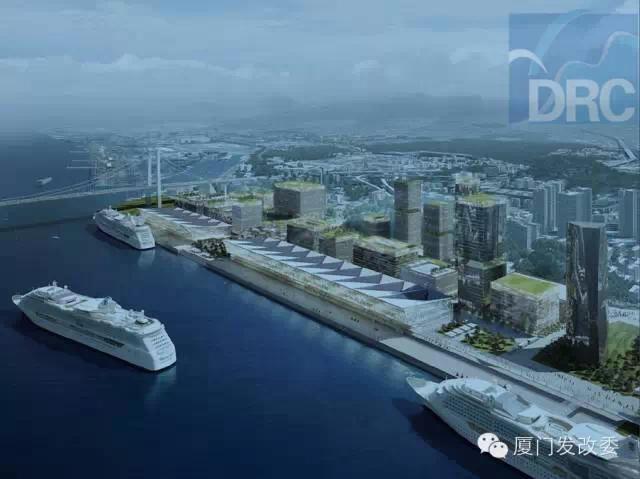 厦门国际邮轮母港效果图