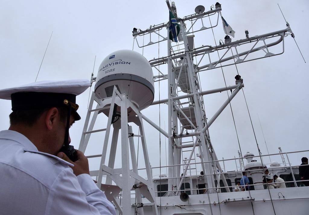 Российские и японские пограничники отработали действия по задержанию судна-нарушителя