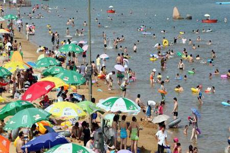 모래사장 세균 바닷물보다 100배 많다