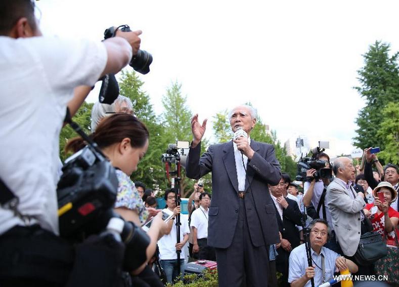 Экс-премьер Японии Т.Мураяма раскритиковал  действующего премьера С.Абэ за курс на милитаризацию