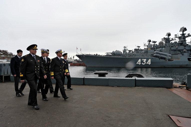 На защите интересов страны в Мировом океане. Корабли ВМФ