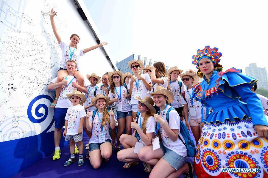 Международный фестиваль детского творчества открылся в Тяньцзине