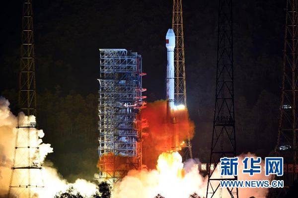 Китай успешно запустил 2 навигационных спутника