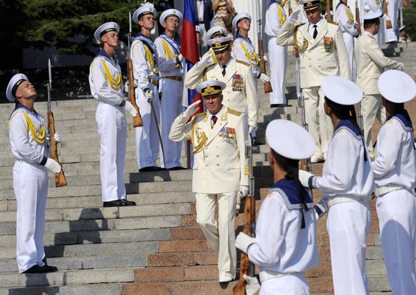 Россия отмечает День Военно-морского флота. Лев Федосеев/ТАСС