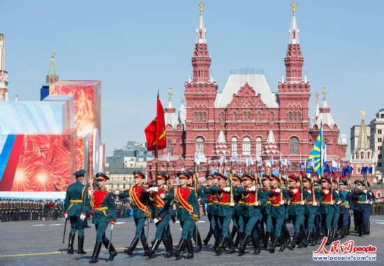 Российские военные приедут в Пекин для участия в Параде Победы 3 сентября на площади Тяньаньмэнь