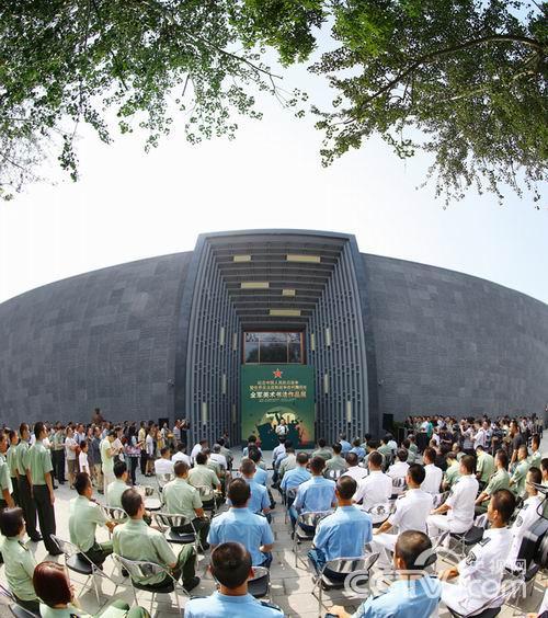 纪念中国抗战胜利70周年全军美术作品展开幕