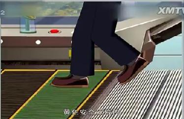 看大陆     扶梯乘坐安全须知:   不携带超范围大件行李或物品   老人