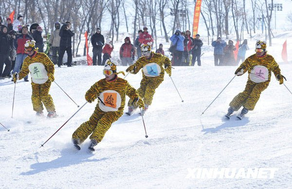 On va fêter en même temps la nouvelle année du Tigre en Chine