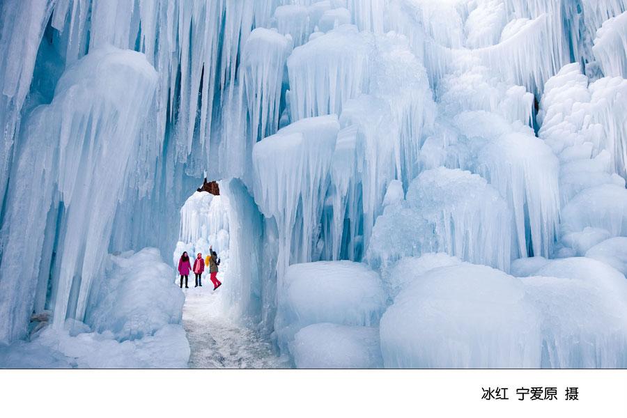Comme au pôle Nord : Zhangjiakou sous la neige