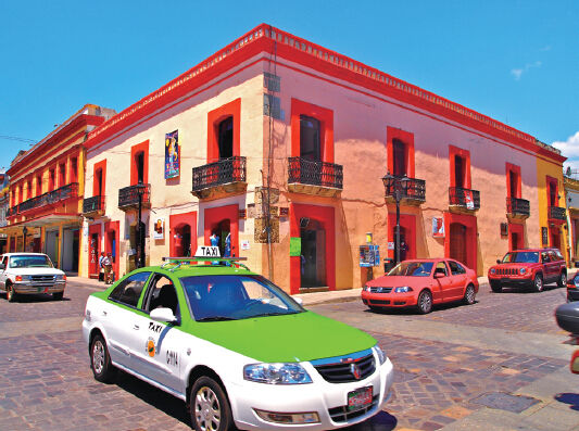 去瓦哈卡城 做一个色彩斑斓的梦