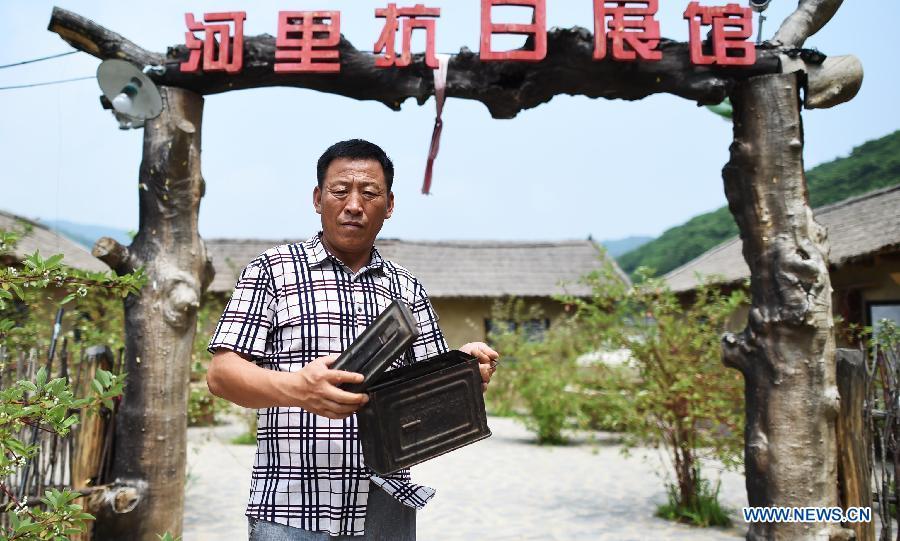 Потомок Северо-Восточной антияпонской объединенной армии Китая собственными деньгами создал Мемориальный музей в честь 70-летия победы антияпонской войны