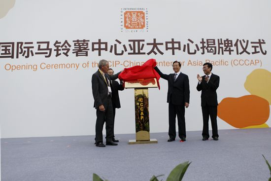 В Китае создано отделение Международного центра картофелеводства в Азиатско-Тихоокеанском регионе