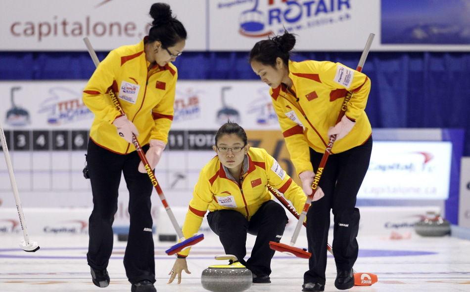 В Китае все популярнее становятся зимние виды спорта