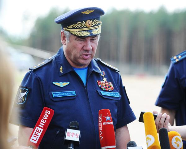 Виктор Бондарев, Главнокомандующий ВВС России