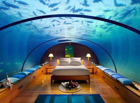 斐济的海神水下酒店